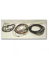 wiring harnesses electrical interior wiring harness w turn signal 47 49 willys cj2a