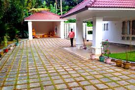 Small Picture garden design works in kollam tile and stone kerala