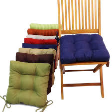 Kitchen and Table Chair Wooden Seat Cushions Chair Back Cushions