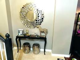 round entrance table modern round entry table entryway table decor ideas ideas modern style entrance table