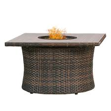 premium weave 42 round or square fire table round nc4314r 42 p square nc4314sq 42 p available in as with size 42 x 42 x 22 5 ht