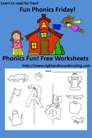Sounds and phonics worksheets for preschool and kindergarten, including beginning sounds free phonics worksheets. Fun Phonics Friday Free Phonics Worksheets