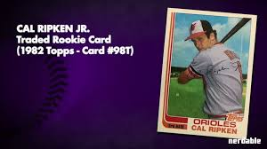 We did not find results for: 5 Most Valuable Baseball Cards 1980s Nerdable Com