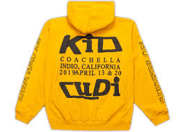 Swim In The Light Kid Cudi Kid Cudi Swim In The Light Hoodie Yellow