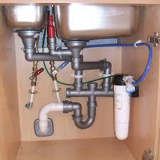 The Terrific Unbelievable Kitchen Sink Plumbing Kit Photo