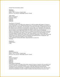 Letter Of Recommendation From Employer To College Sample Recommendation Letter From Employer Format College Reference