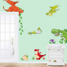 image is loading dinosaur zoo wallpaper decals for kids baby boy  on dinosaur bedroom wall stickers with dinosaur zoo wallpaper decals for kids baby boy bedroom wall