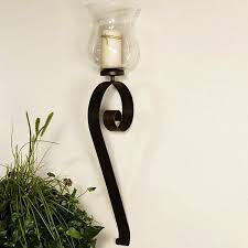 Decorative Wall Sconces For Candles Awesome 2017 Design Wrought Iron Candle  In 8 | Allthingschula.com decorative metal wall sconces for candles.  decorative ...