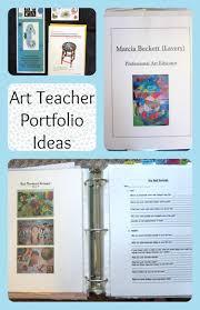 Art Teacher Portfolio Ideas For An Interview Teaching Portfolio
