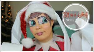 elf on a shelf makeup tutorial ii 12 days of