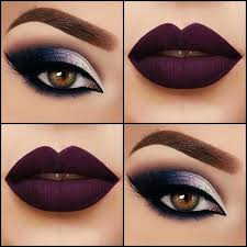 perfect matte lip with a beautiful eye