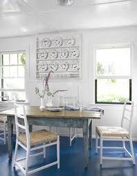 coastal lighting coastal style blog. Coastal Cottage Blue And White Beach House Breakfast Table In Kitchen Lighting Style Blog