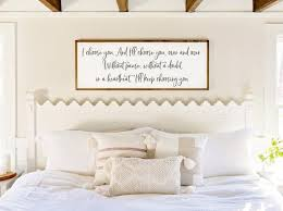 bedroom wall decor id choose you sign