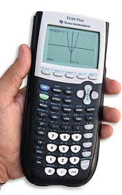 scientific calculator  left texas instruments ti 30x iis calculator a two tier lcd the upper dot matrix area can display input formulae and symbols