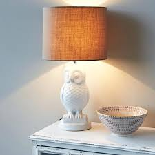 white owl lamp s rabbit childrens target lampshade