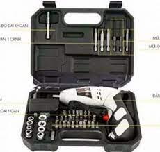 Giảm 47 %】 Bộ máy khoan và vặn ốc vít có sạc tích điện - Máy khoan pin, bắt  vít,45 chi tiết