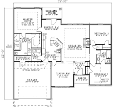 One Level House Plans Side View House Plans Narrow Lot HouseView House Plans