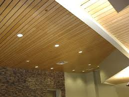 Tongue Groove Wood Ceiling Panels Comfortable Fabric Sofa Bed Ideas Tube  Pattern Hanging Lighting Round Luther
