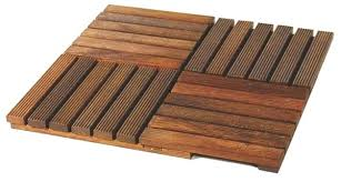 wood decking tiles wooden uk ikea deck over grass