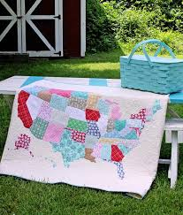 Best 25+ Map quilt ideas on Pinterest | Map projects, How to make ... & U.S. Map Quilt Tutorial Adamdwight.com
