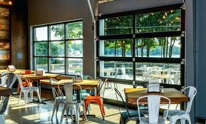 Glass garage doors restaurant Aluminum Restaurant Garage Doors Commercial Garage Doors Restaurant Garage Doors Cost Restaurant Garage Doors Xen Micro Restaurant Garage Doors Glass Garage Door Restaurant Patio Garage