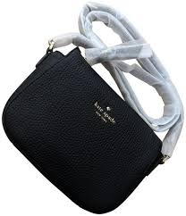 Kate Spade Daniel Drives Wendi Black Pebble Leather Cross Body Bag - Tradesy