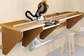 diy chop saw table. add help with a shop built system diy chop saw table d