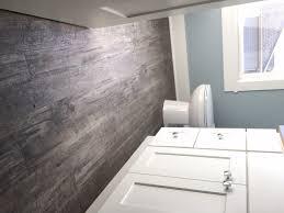 Rustic Modern Hardwood Floor Bathroom Wood Bathroom