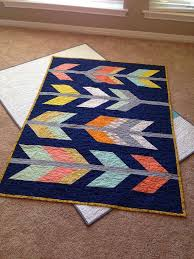 51 best modern quilts images on Pinterest | Places to visit ... & I made this quilt a couple months ago for a friend and · Modern Baby ... Adamdwight.com