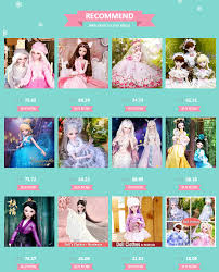 <b>60cm</b> Lifelike <b>Fashion</b> Girl Dolls Large Original Handmade 1/3 Bjd ...