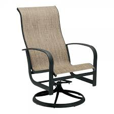 high top swivel patio chairs back rocker chair and