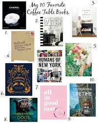 my 10 favorite coffee table books by lifestyle blogger amy of coffee beans and bobby pins