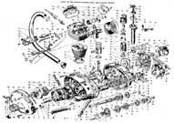 ducati classic posters etc gt 250 engine assembly diagram