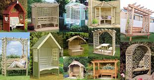 Small Picture 45 Garden Arbor Bench Design Ideas DIY Kits You Can Build Over