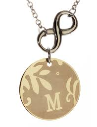 r h jewelry r h jewelry stainless steel alphabet initial sentimental pendant necklace n com