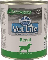 Беззерновые <b>консервы Farmina Vet Life</b> Natural Diet Dog Renal