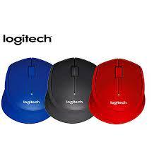 Chuột Không Dây Logitech M330 Chuột Quang Không Tiếng USB Băng Tần 2.4GHz  Độ Phân Giải 1000DPI Dành Cho Làm Việc Tại Nhà Sử Dụng Máy Tính Bàn/Laptop  Game Thủ