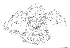 Print and color this cool how to train your dragon 2 coloring page! Whispering Death Dragon Coloring Pages Printable