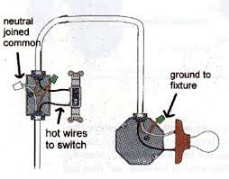 light fixture wiring diagram electrical is it normal to have a light switch setup using only wiring light at end