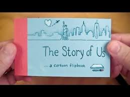 the story of us a cartoon flipbook