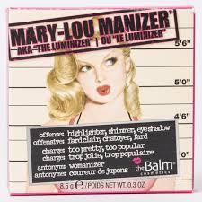 The balm, mary Lou Manizer, rozwietlacz do Policzkw Ciaa