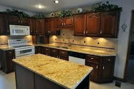 kitchen and granite with tile ideas designs standard countertop backsplash dark countertops