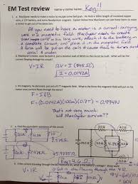 You could not unaided going as soon as books gathering or library or borrowing from your contacts to contact them. Em Test Review Answer Key Ms Pearce S Ipc Physics