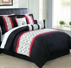 red and black bed set black bedding set bedding set gray red comforter black red gray