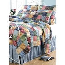 checkerd bedding color madras plaid quilt king set patchwork checd bedding tartan