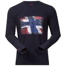 Buy Bergans Norway Shirt Ls Midnight Blue Online Now Www