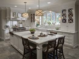 Small Picture Incredible Kitchen Design Ideas 2017 White And Warm Classic