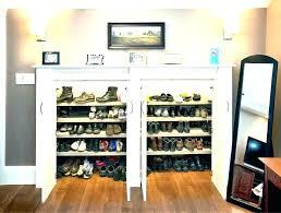 diy closet shoe racks organizer for small holder bathrooms winsome ideas storage entryway sh