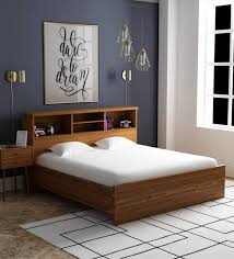 Image Rustic Buy Kimura King Size Bed In Teak Finish By Mintwud Online Modern King Sized Beds Beds Furniture Pepperfry Product Pepperfry Buy Kimura King Size Bed In Teak Finish By Mintwud Online Modern