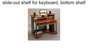 modern computer desk workstation